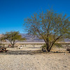 Desert campground in Death Valley National Park, California