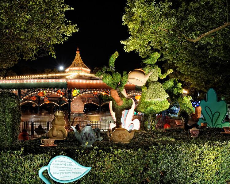 Walt Disney World 20s, at f/16 || E.Comp:0 || 24mm || WB: INCANDESCENT 0. || ISO: 200 || Tone:  || Sharp:  || Camera: NIKON D700on: 2010:01:02 22:14:17