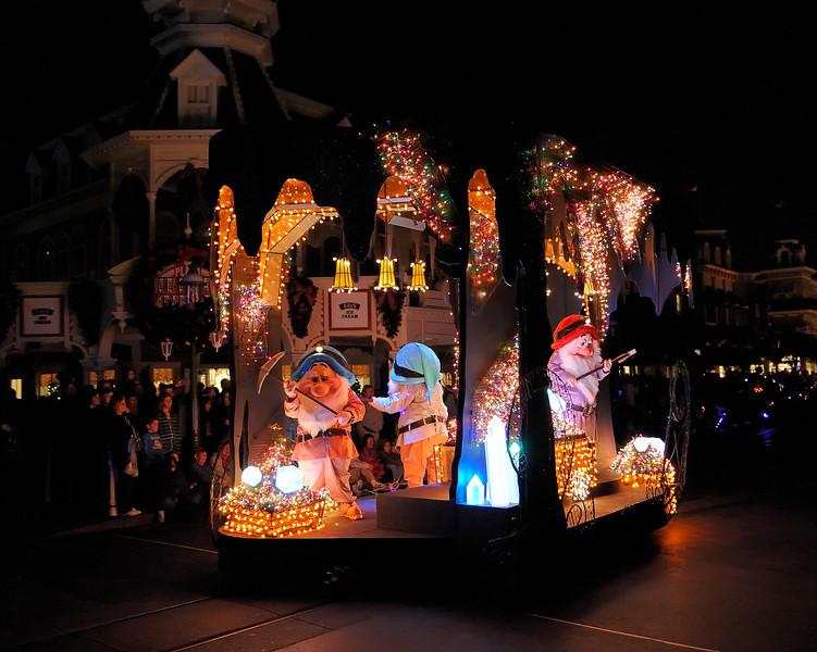 Walt Disney World, Pixelmania 2010 1/ 60s, at f/2.8 || E.Comp:0 || 28mm || WB: INCANDESCENT 0. || ISO: 4500 || Tone:  || Sharp:  || Camera: NIKON D700on: 2010:12:04 22:23:54