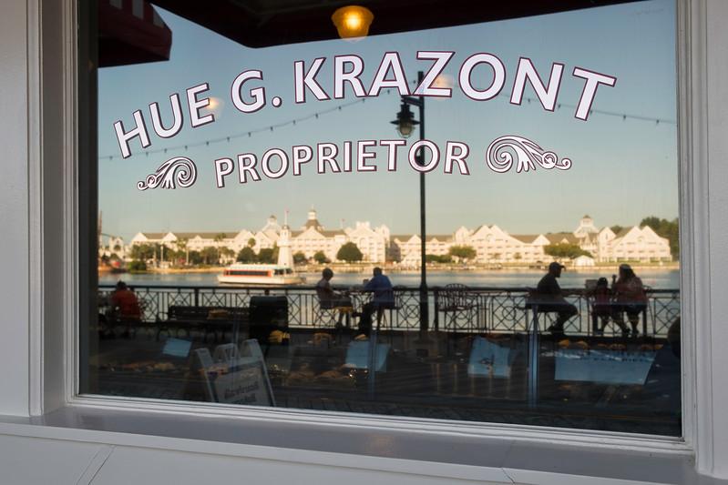Boardwalk Bakery, Hue G. Krazont, Proprietor