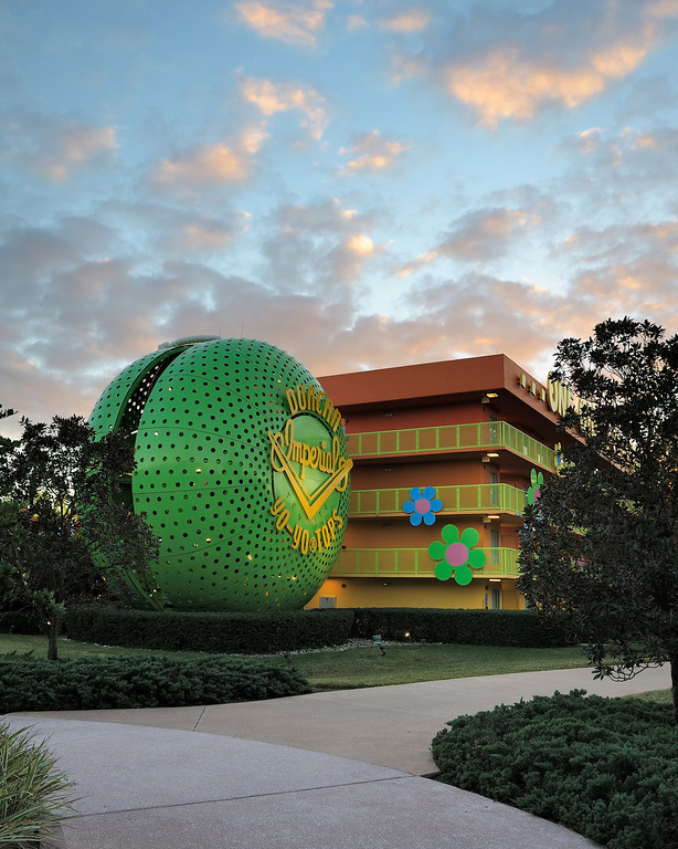 Pop Century Sunset