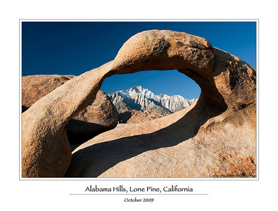 Eastern Sierra Mountains and Death Valley 2009