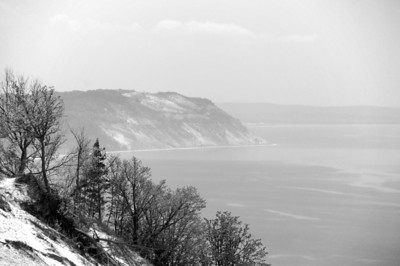 Lake Michigan Overlook |  Sleeping Bear Dunes, MI - 0020