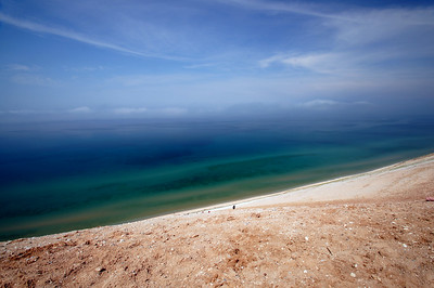 Lake Michigan Overlook |  Sleeping Bear Dunes, MI - 0019