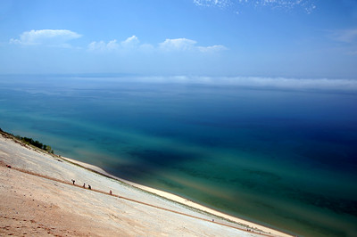 Lake Michigan Overlook |  Sleeping Bear Dunes, MI - 0021