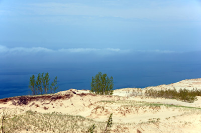 Lake Michigan Overlook |  Sleeping Bear Dunes, MI - 0022
