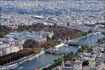 Grand Palais, Place de la Concorde