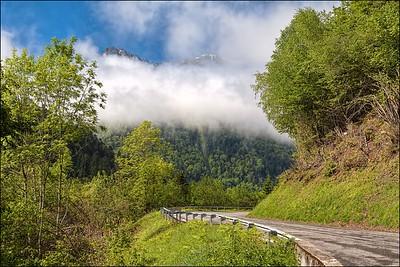 En route Col du Tournante