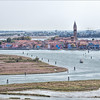 Burano from Torcello Island