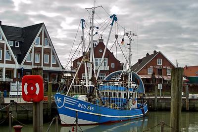 Fischerboot | Neuharlingersiel, Germany - 0060