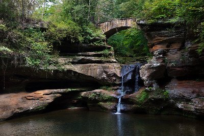Old Man's Cave Falls III | Hocking Hills, OH | US - 0020