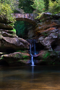 Old Man's Cave Falls III | Hocking Hills, OH | US - 0024