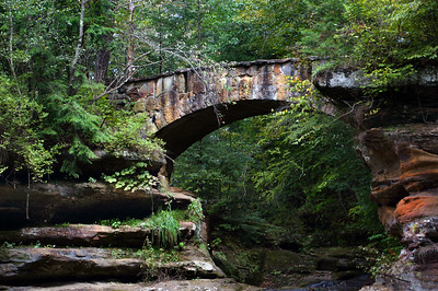 Old Man's Cave - Stone Bridge | Hocking Hills, OH | US - 0022