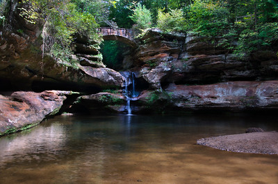 Old Man's Cave Falls III | Hocking Hills, OH | US - 0023