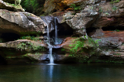 Old Man's Cave Falls III | Hocking Hills, OH | US - 0021