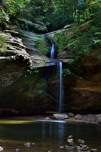 Old Man's Cave Falls | Hocking Hills, OH | US - 0014