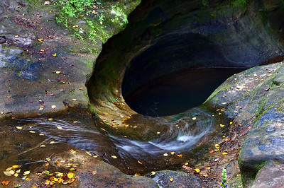 Old Man's Cave Falls II | Hocking Hills, OH | US - 0018