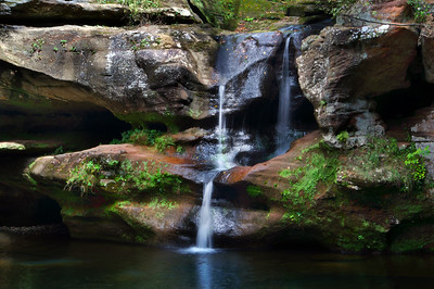 Old Man's Cave Falls III | Hocking Hills, OH | US - 0019