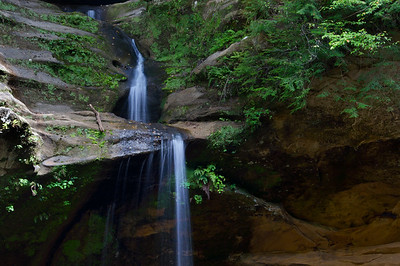 Old Man's Cave Falls | Hocking Hills, OH | US - 0015