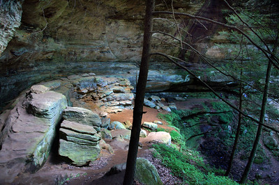 Cantwell Cliffs  | Hocking Hills, OH | US - 0045