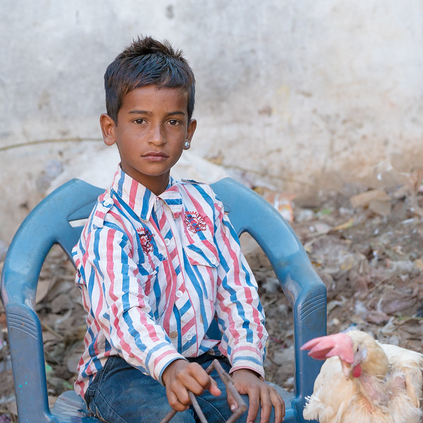 boy in Market