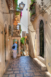 Taormina Shopper