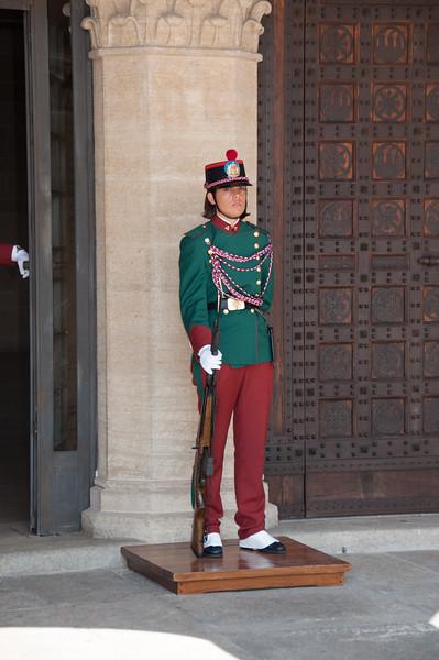 The Palace Guard - San Marino