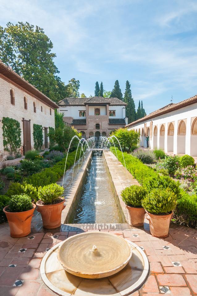 Alhambra Water Garden