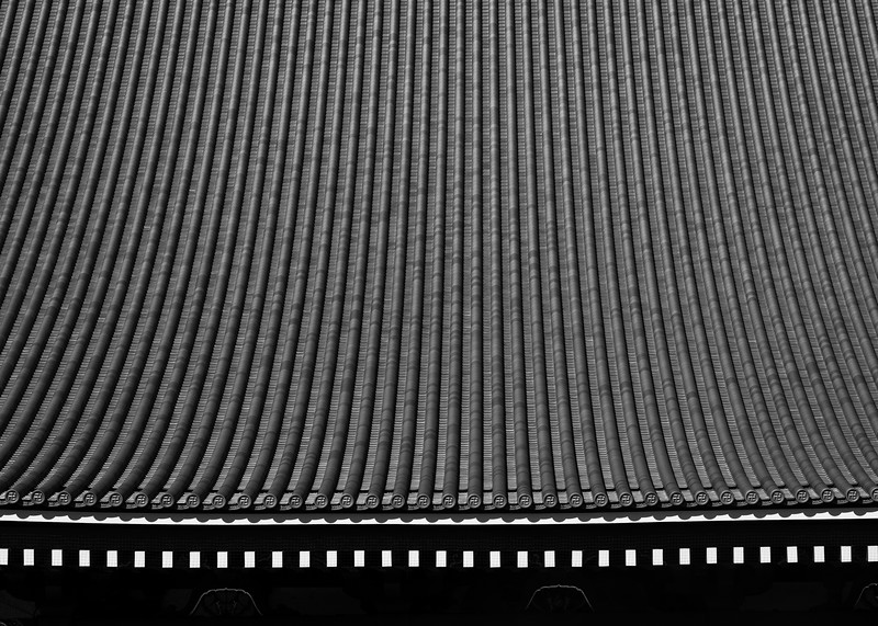 Senso Ji Temple Roof Abstract