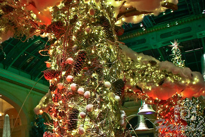 Bellagio Conservatory Holiday display 2011 Las Vegas, Nevada  © Copyright Hannah Pastrana Prieto