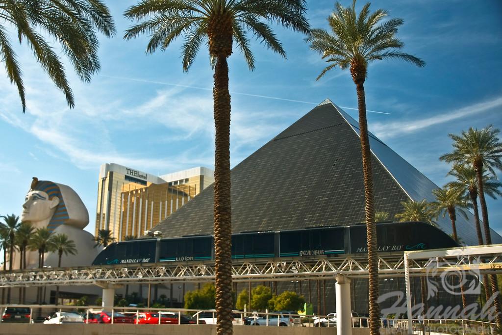 View of Luxor Hotel and Casino in Las Vegas, Nevada  © Copyright Hannah Pastrana Prieto