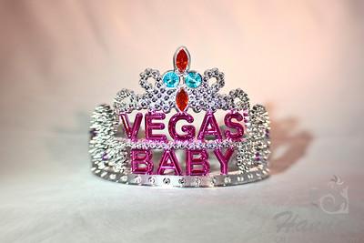 A Lensbaby shot of a fancy tiara only found in Las Vegas, Nevada  © Copyright Hannah Pastrana Prieto