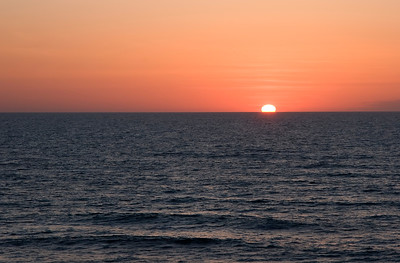 Sunrise over the Atlantic Ocean  Perfect for adding any text you need!