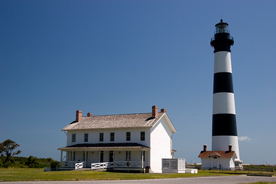 Bodie Island Lighthouse in NC  Lots of room to add custom text!
