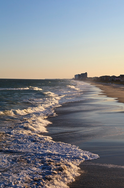 Surfside Beach in the Late Day
