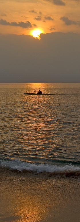 Sunset Kayak off Kaanapali