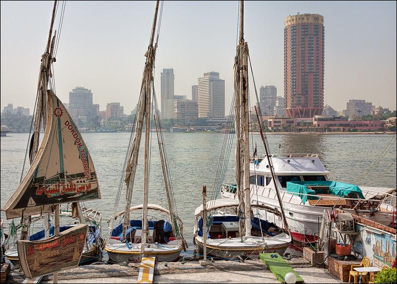 Le Caire sous le smog