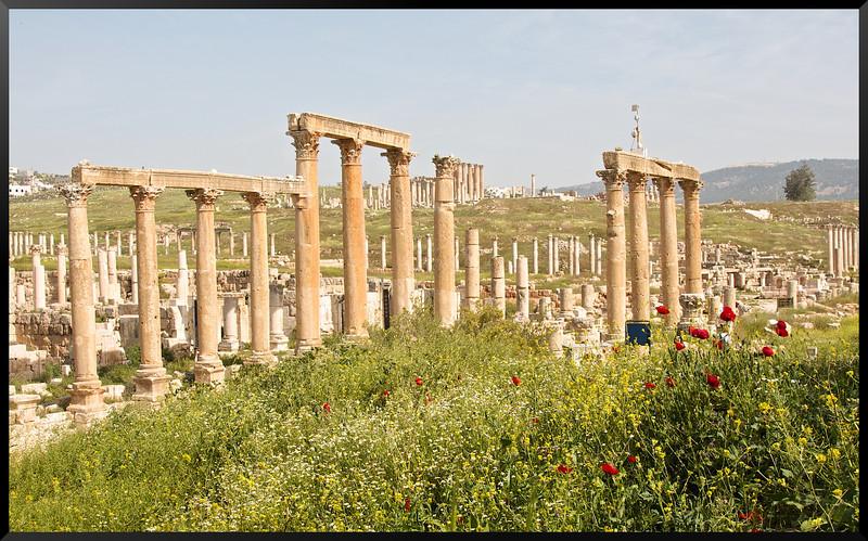 Ruines Romaines, Jarash