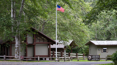 Lake Ozette Ranger Station.