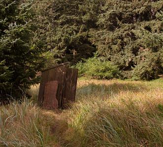 Outhouse, Cape Alava