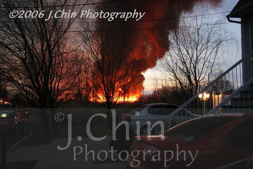 2006 Gateway National Park brush fire