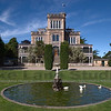 The Larnach Castle in Christchurch New Zealand.