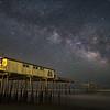 Frisco Pier under the Milky Way