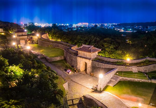 Shuri Castle Nightscape