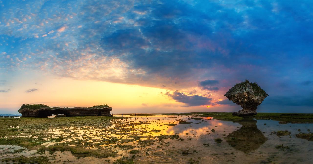 Taguchi Beach Sunset