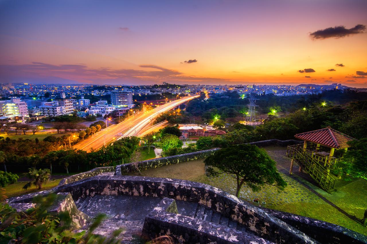 Urasoe Castle Sunrise
