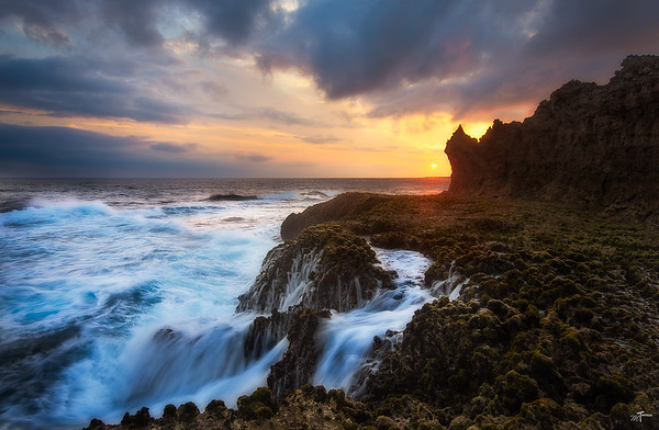 Cape Arasaki Sunset