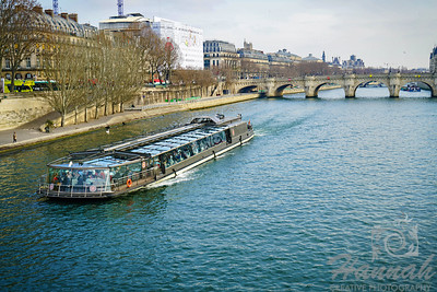River Seine in Paris, France