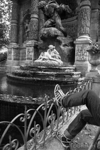 Enjoying Paris