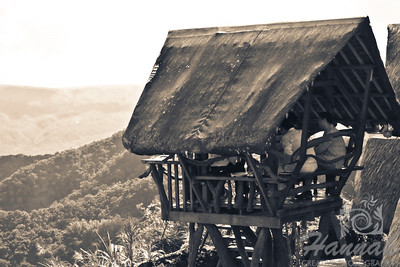 A small elevated Nipa Hut found in the Philippines.  © Copyright Hannah Pastrana Prieto
